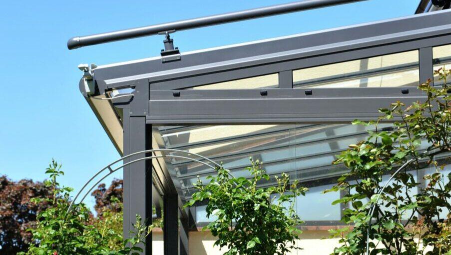 Referenz 1 Terrassenüberdachung